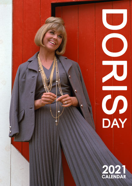 Cover Sleeve of our 2021 Doris Day Wall Calendar